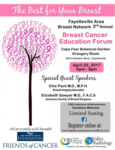 Breast Cancer Education Forum